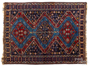 Semi antique Caucasian carpet