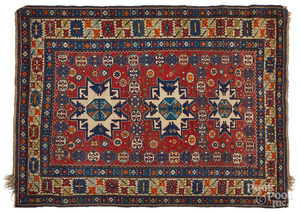 Lesghi Star Shirvan carpet, early 20th c.