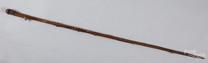 Carved cane, early 20th c.