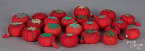 Collection of Japanese tomato pincushions