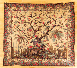 Two early printed bedcovers