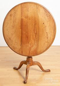 Pennsylvania Queen Anne walnut tea table, ca. 177