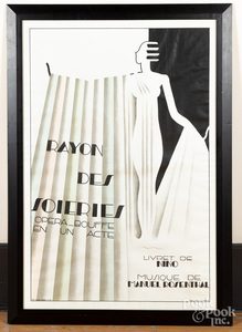 Maurice Dufrene poster, Rayon Des Soieries