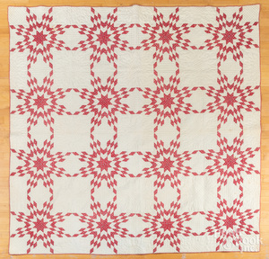 Star pattern quilt, late 19th c.