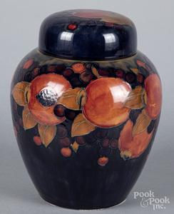 Large Moorcroft pottery urn