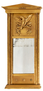 Federal giltwood mirror, ca. 1820
