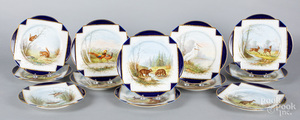 French porcelain service