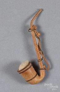 Dresden pipe Christmas ornament