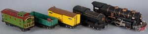 Twelve-piece Lionel train set