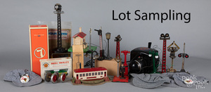 Group of Lionel train accessories