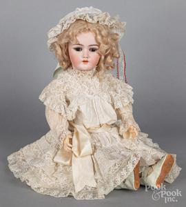 Heinrich Handwerck bisque head doll