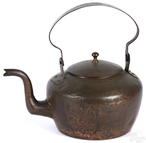 Philadelphia copper kettle