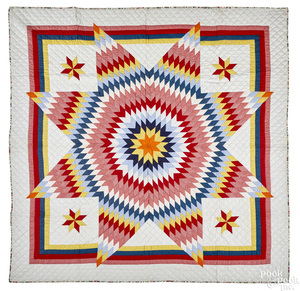Mennonite Bethlehem Star quilt