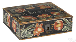 Berks County painted pine Bucher box