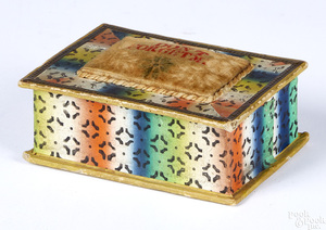 Wallpaper dresser box