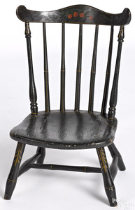 Pennsylvania child's fanback Windsor chair