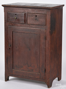 Pennsylvania stained pine cupboard