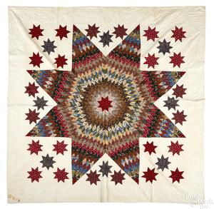 Pennsylvania Bethlehem Star quilt