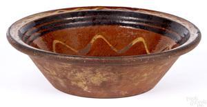 Pennsylvania redware bowl