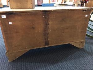Pennsylvania painted poplar blanket chest