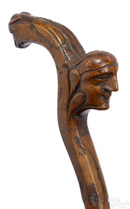 Carved cane
