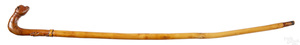 Schtockschnitzler Simmons carved cane
