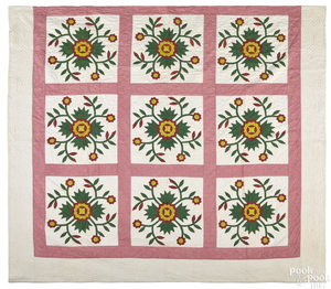 Pennsylvania whig rose quilt