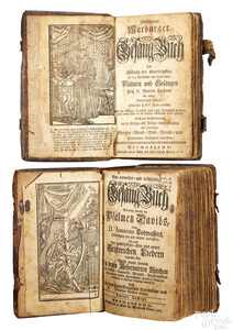 Two Christopher Sauer, Germantown, song books