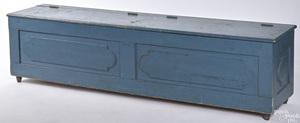 Pennsylvania painted poplar lift lid bin