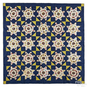 Mennonite pieced quilt