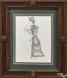 Three Pennsylvania pencil drawings