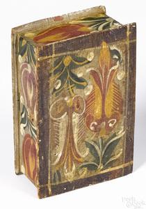 Continental painted pine dresser box