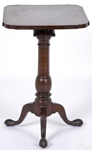 Pennsylvania walnut candlestand