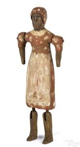 Black Americana painted figure of Aunt Jemima
