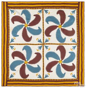 Princess Feather quilt