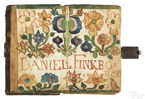 Johannes Ernst Spangenberg fraktur bookplate