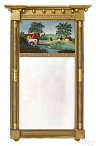 Philadelphia Federal giltwood mirror