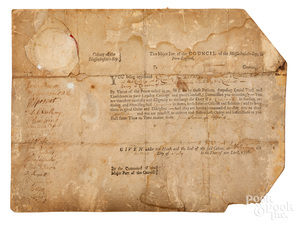 Massachusetts Bay Colony appointment of Bancroft