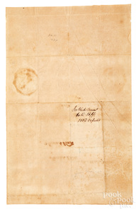 James Monroe signed appointment document