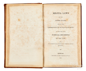 Militia Laws of United States and Massachusetts