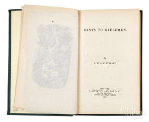 Hints to Riflemen, H. W. S. Cleveland, 1864.