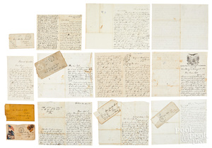 Collection of twenty Civil War soldier letters