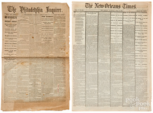 The Philadelphia Inquirer, Lincoln assassination