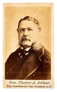 Chester Alan Arthur CDV campaign photograph