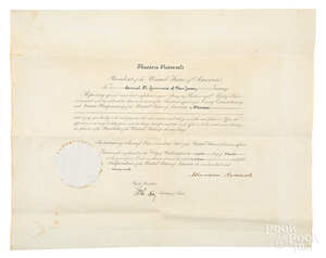 Theodore Roosevelt signed Presidential appointmen