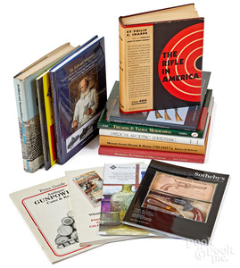 Group of Civil War and gun related books