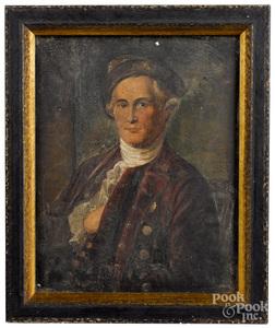 Oil on board portrait of Brig. Gen. Mordecai Gist