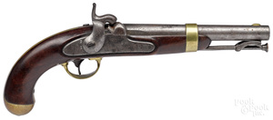 H. Aston & Co. model 1842 percussion pistol