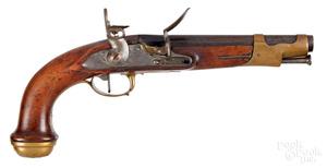 Garde du Corps du Roi model 1816 flintlock pistol