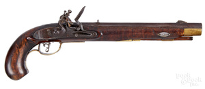 Lehigh County, Pennsylvania flintlock pistol